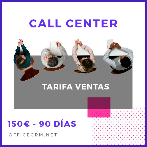 officecrm-call-center-ventas-90-dias